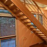 Samonosné priame schody otvorené
