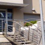 Exteriérové schodište