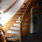 Mlynárske schody na povalu